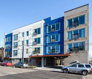 Collage Apartments In Fremont Seattle